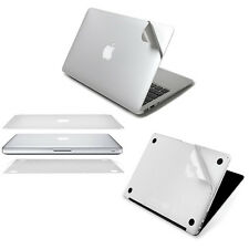 "Body Lid Bottom Invisible Protector Sticker Skin for Macbook Pro Air 11"" 13"" 15"""