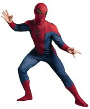 ADULT SPIDERMAN SPIDER MAN MOVIE DELUXE COSTUME BOOT COVERS MASK DG42499