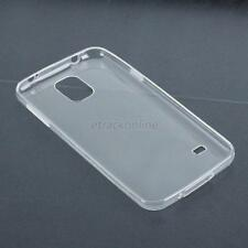 Clear Transparent Crystal Soft TPU Silicone Gel Cover Case For Samsung Galaxy S5