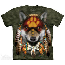 THE MOUNTAIN NATIVE AMERICAN WOLF SPIRIT INDIAN FEATHER EAGLE T TEE SHIRT S-5XL