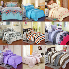 Soft Bedding Set Single Full/Queen/Double King Cover&Pillow Case&Bedspread Duvet