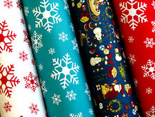 Quality 100% Cotton Fabric, sold by the meter Christmas Designs