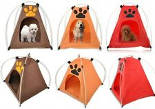 Pet Tent Dog Cat Bed Foldable Waterproof Windproof FOR Outdoor Camping Hiking