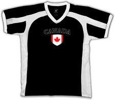 Canada Flag Crest Canadian Maple Leaf National Country Pride Retro Sport T-shirt