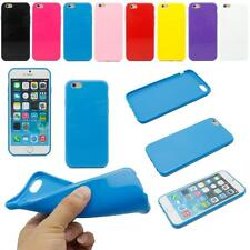 Color Soft TPU Silicone Rubber Gel Back Case Cover Skin For Apple iPhone 6 4.7""