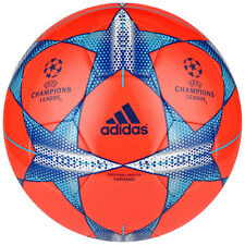 adidas Capitano Finale UCL 2015 Soccer Ball Brand New Red / Royal / Silver