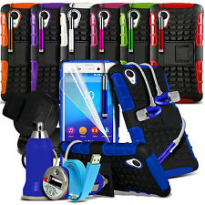 Super 7 in 1 Tough Shockproof Case Cover Car Accessory Pack for Various Mobiles