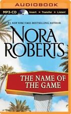 NEW The Name of the Game by Nora Roberts MP3 CD Book (English) Free Shipping