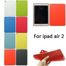New Ultra Thin TPU Soft Silicone Gel Back Case Cover For Apple iPad Air 2 iPad 6