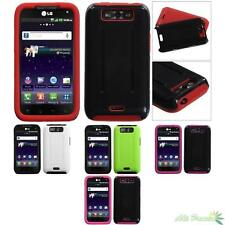 For LG LS840(Viper), MS840(Connect 4G) Fusion Snap-on Protector Case Cover
