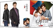CASTLE V6 Custom Photo Album 3-Ring Binder NATHAN FILLION & STANA KATIC