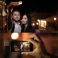 HOT 3.5mm 16 LED Camera Smart Selfie Fill Light For IOS Android iPhone 5s 6 Plus