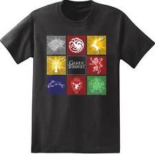 GAME OF THRONES HOUSE SIGILS TARGARYEN GREYJOY BARATHEON T TEE SHIRT S-2XL