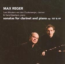 Max Reger: Sonatas for Clarinet and Piano, Op. 107 & 49 New CD