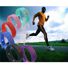 2015 Men Women LED Waterproof Watch Sport Watches Bracelet Digital Wristwatch