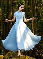 Vintage Style Summer Dress Long Wedding Evening Prom Gown Cocktail Party Dresses