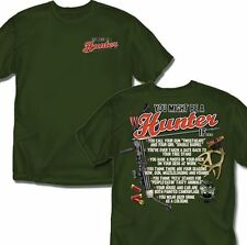 You Might Be A Hunter If - T Shirt Adult Sizes