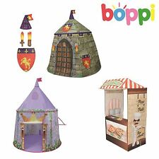 LUXURY FABRIC CHILDRENS KIDS BOYS GIRLS PLAY TENT SOME WITH DRESS UP ACCESSORIES