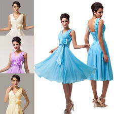 Vintage 50s Pinup Ball Gown Short Prom Party Formal Bridesmaid Dresses PLUS SIZE