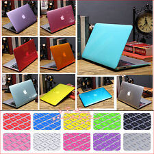 """2in1 Crystal See-through Hard Case Cover for MacBook 12""""/ Air Pro 11"""" 13"""" 15"""""""