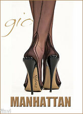 Gio MANHATTAN HEEL Fully Fashioned Stockings - Limited Edition - Imperfects