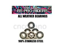 ALL WEATHER BEARINGS CERAMIC Si3N4 & S/S ABEC 9 608 SKATEBOARD LONGBOARD SCOOTER