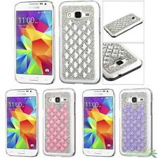 For SAMSUNG Galaxy Prevail LTE/G360 Bling Crystal Dazzle Back Case Cover