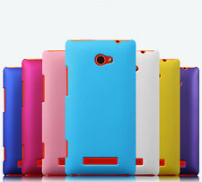 New Premium Slim Gel Soft Rubber Case Cover Skin For HTC Windows Phone 8X Mobile