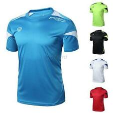 New Men Sport Gym Quick Dry Casual Stretch T-Shirt Top Tee Shirt Size M/L/XL/2XL