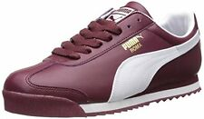 PUMA Men's Roma Basic Classic Fashion Shoes Sneakers, Zinfandel / White