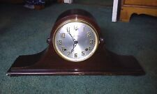 Vintage Sessions Dundee Chiming 8 Day Two Tone Chime Mantle Clock