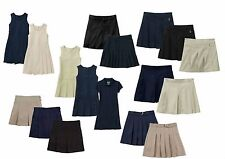 New George Girls' Skirt Dress Jumper Scooter School Uniform Beige Navy Black