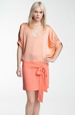 DRESS BY DVF DIANE VON FURSTENBURG 100% SILK DOLMAN NWT FLAPPER RETAIL $375