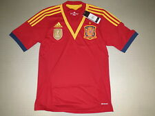 Jersey spain Home 12/13 Adidas Size S M L XL XXL XXXL new spain