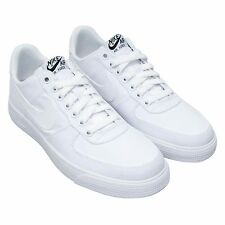 Nike Air Force 1 AC Sneakers White Canvas 630939 101 Mens Size 9.5 NEW