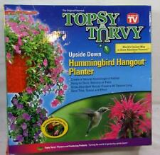 ORIGINAL TOPSY TURVEY UPSIDE DOWN HUMMINGBIRD HANGOUT PLANTER AS SEEN ON TV NEW
