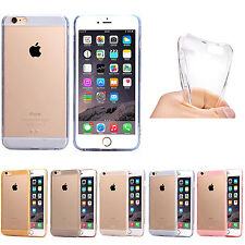 Ultra Thin Transparent Crystal TPU Phone Case Cover Skin for iPhone 6 6 Plus