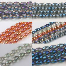 Wholesale Olive Czech Crystal Glass Loose Spacer Charms Jewelry Findings Bead