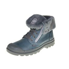 Palladium Shoes - Baggy Leather S - Nordic Blue Metal