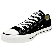 CONVERSE CHUCK TAYLOR ALL STAR OX SHOES BLACK M9166 SNEAKER TRAINERS