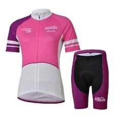 Outdoor Women Bicycle Jersey Bike Clothing Padded Shorts Cycling Wear Size S-4XL