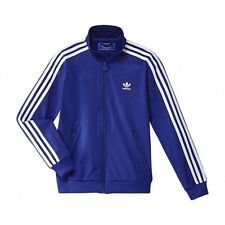 ADIDAS ORIGINALS JUNIOR FIREBIRD JACKET CHILDREN TRAINING BLUE/WHITE 116 128