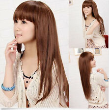 Fashion Sexy Women's Fashion Long Straight Heat Resistant Hair Wig Wigs+Wig Cap