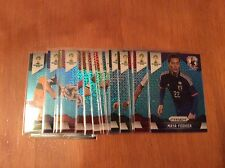 2014 Panini Prizm World Cup National Blue Wave Pulsar #/55 Parallel Singles Lot