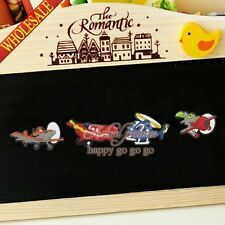 4pcs/set Planes Refrigerator Magnetic Stickers/Fridge Magnets,as Boys Party Gift