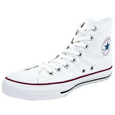 CONVERSE CHUCK TAYLOR ALL STAR HI SHOES OPTICAL WHITE M7650C SNEAKER TRAINERS