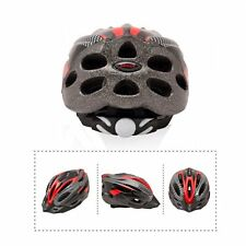 Adul Mens Helmet Bicycle Bike Cycling carbon Red color With Visor Mountain New