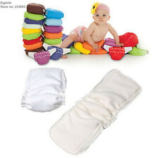 Updated 5 layers High Quality Bamboo Fiber Insert Liners For Cloth Diaper New