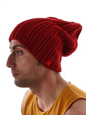 Hurley Beanie knitted Cap Winter hat Offaly red long Knitted