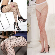 Sexy Women Black Fishnet Pattern Jacquard Lady's Punk Stockings Pantyhose Tights